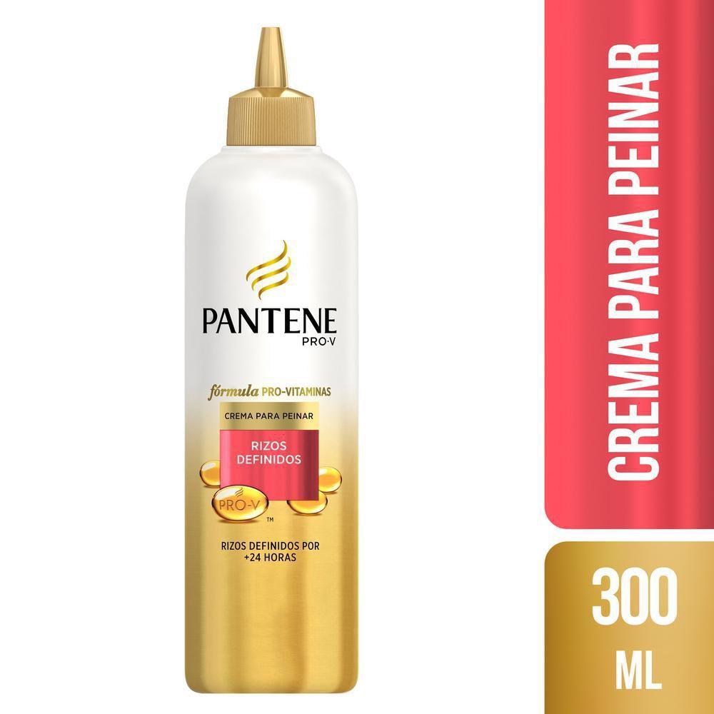 Crema Para Peinar Pantene Pro V Rizos Definidos 300ml