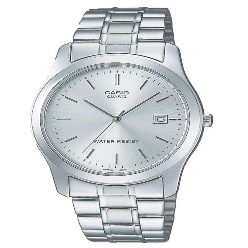 Reloj Casio Elegante MTP 1141A 7A Caballero Acero inoxidable