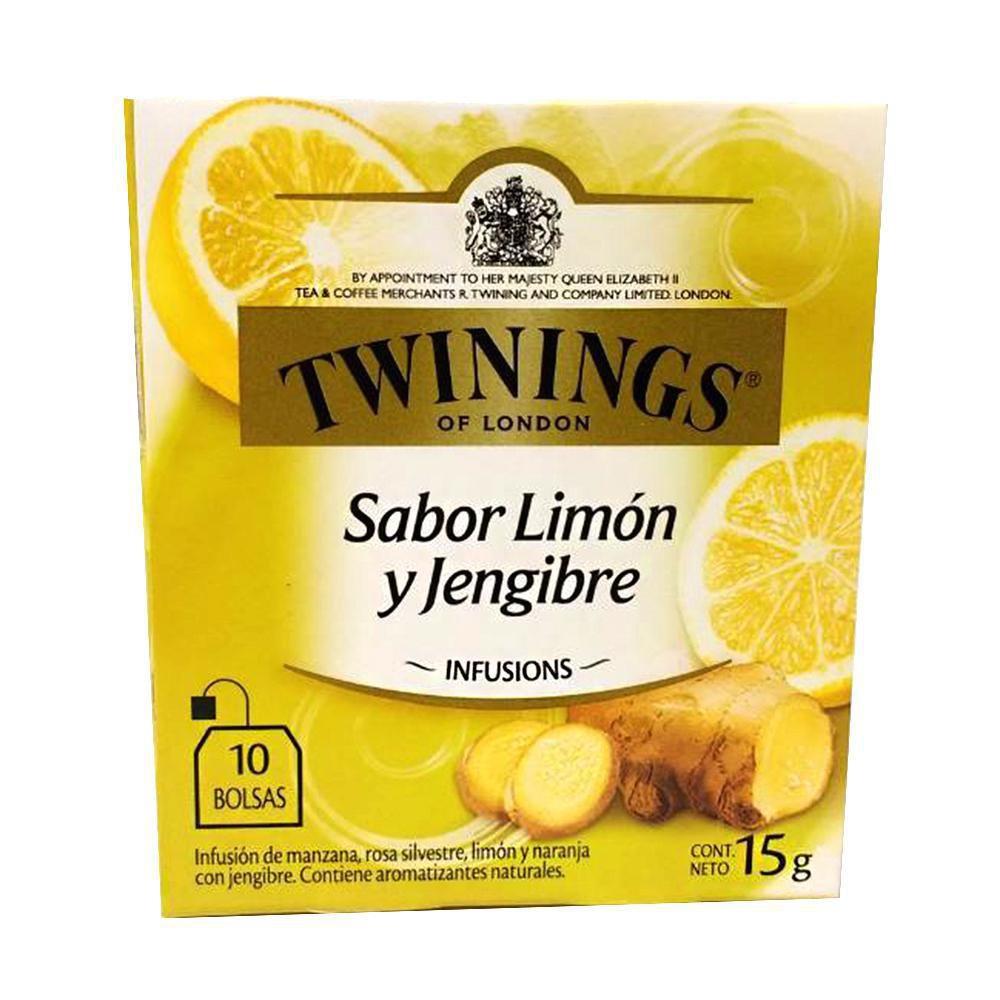 Infusion jengibre con limon