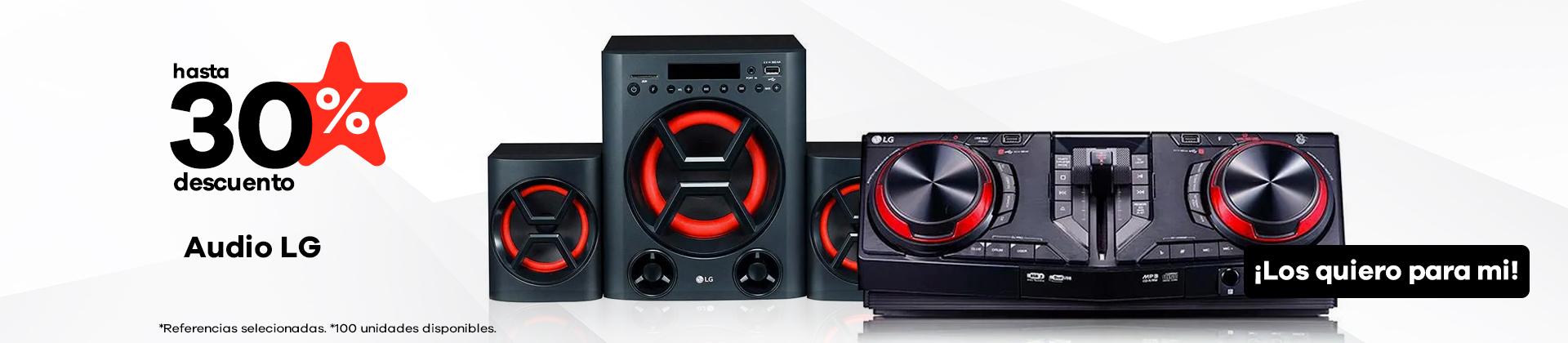 Audio marca LG