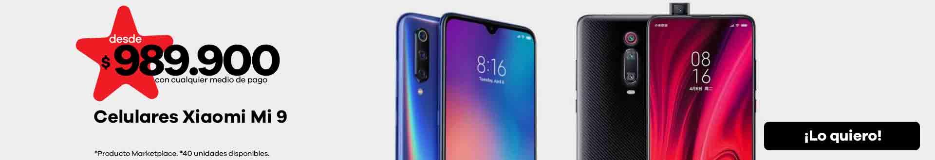 Celulares Xiaomi Mi 9