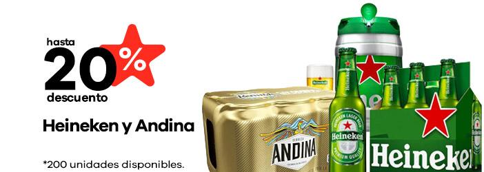 Heineken y Andina