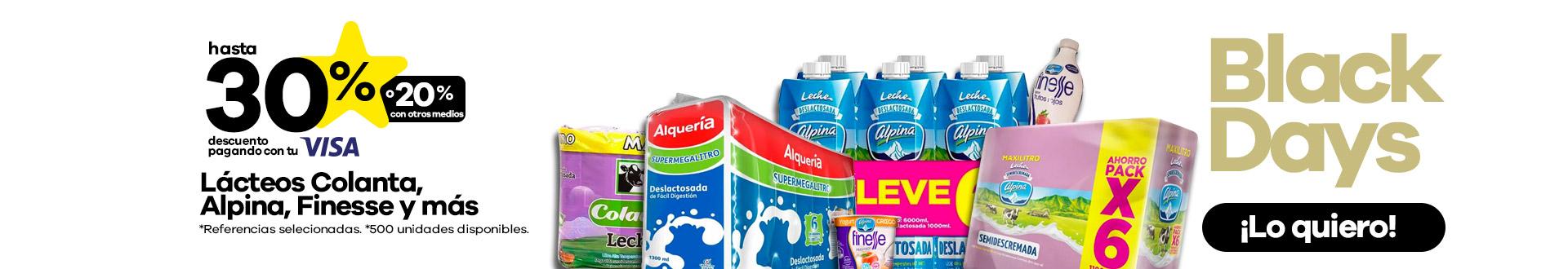 Lacteos colanta, alpina, finesse y más