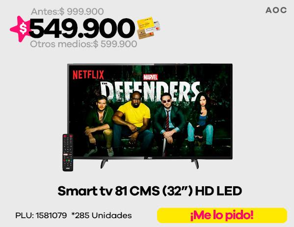 """Smart tv 32"""" AOC"""
