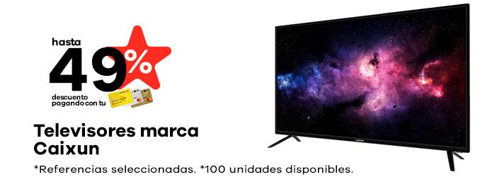 TELEVISORES MARCA CAIXUN