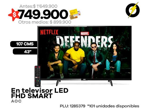 "Televisor 107 cms 43"" AOC"