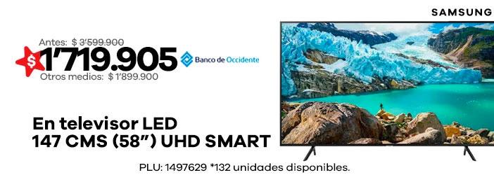 TV LED 147 CMS(58) UHD SMART