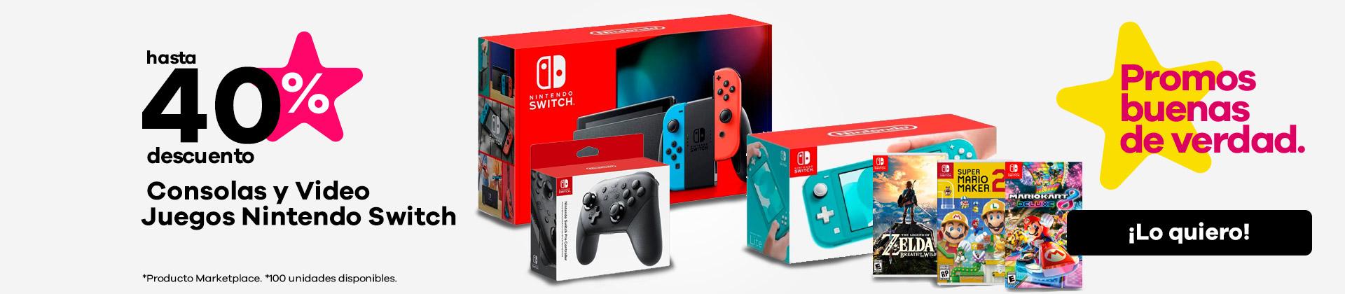 consola y video juegos nintendo switch