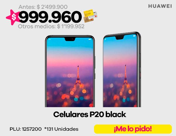 Celulares P20 black