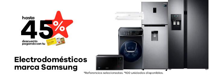 electrodomesticos de la marca Samsung