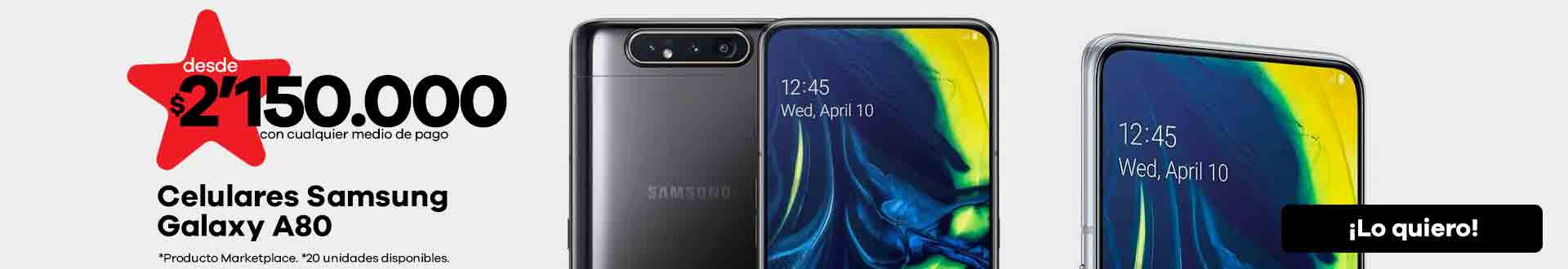 Celulares Samsung Galaxy A80