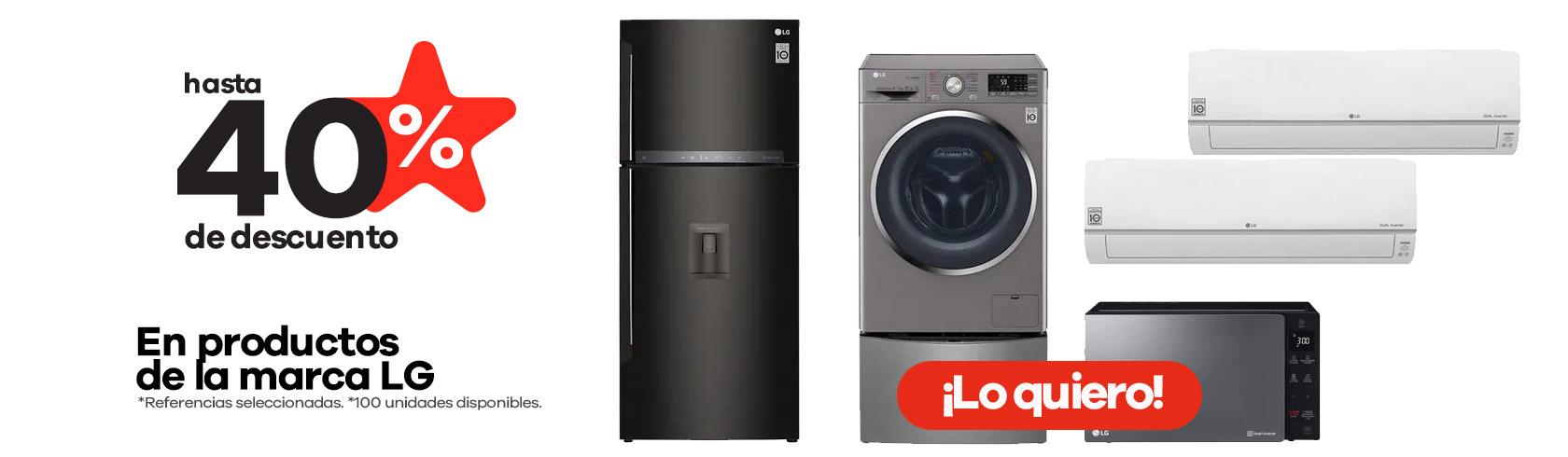 Productos de la marca LG