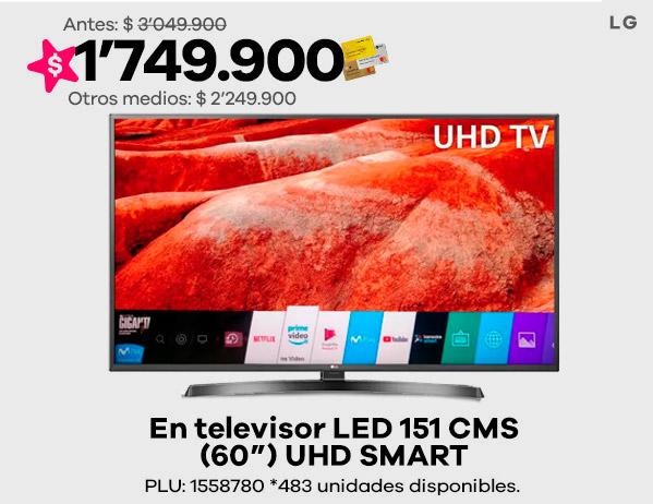 "Televisor 60"" LG"