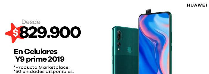 Celulares Y9 prime 2019