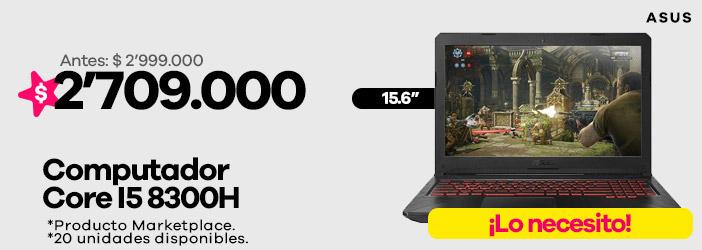 "Computador Asus 15.6"""