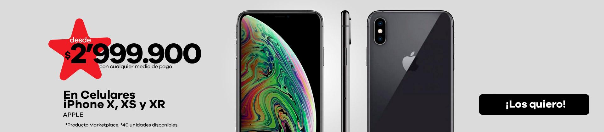 Celulares-iPhone-X-XS-XR