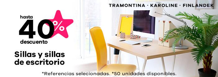 sillas y sillas de escritorio