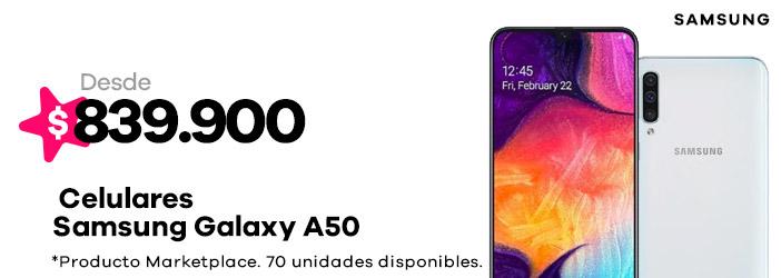 Celulares Galaxy A50