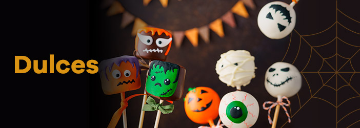 dulces halloween