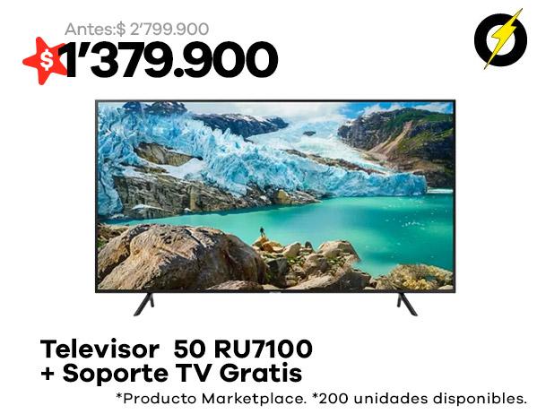 televisor-samsung-50-ru7100-soporte-tv-gratis
