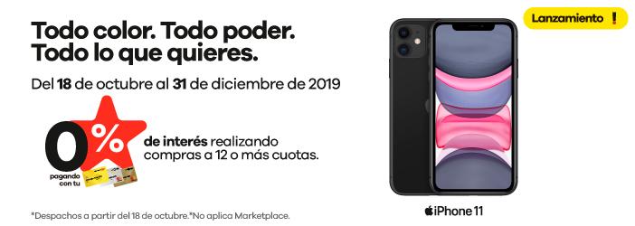 Lanzamiento Iphone 11