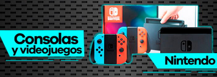 Consolas y videojuegos switch