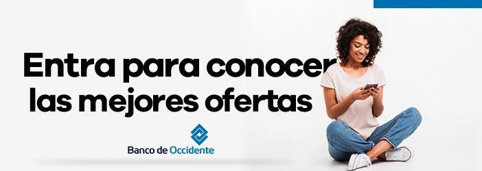 Ofertas con Banco de Occidente