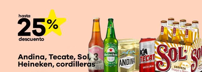 andina,tecate,sol