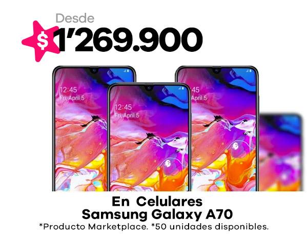 Celulares Galaxy A70