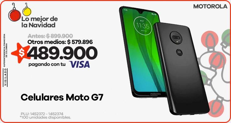 Celulares Moto G7